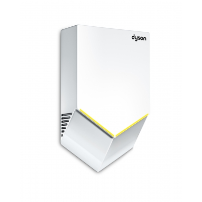 dyson airblade v hand dryer white strategic supply. Black Bedroom Furniture Sets. Home Design Ideas